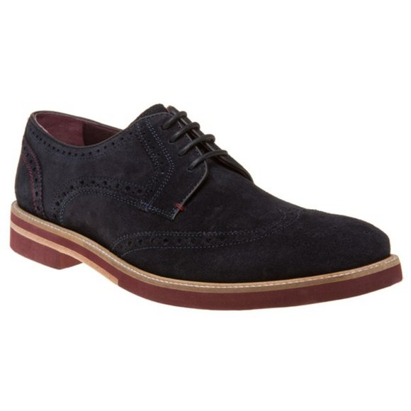Ted Baker London Other - Ted Baker Archerr Suede Leather Wingtip Brogues